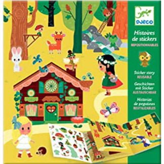 Whirligig Toys - Djeco Sticker Story Magic Forest1