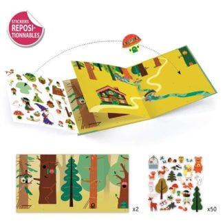 Whirligig Toys - Djeco Sticker Story Magic Forest2