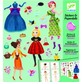 Whirligig Toys - Paperdoll Stickers1