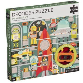 Whirligig Toys - Robot Decoder Puzzle1