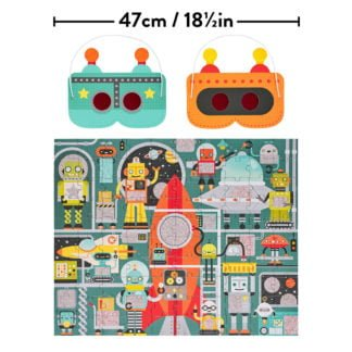 Whirligig Toys - Robot Decoder Puzzle2