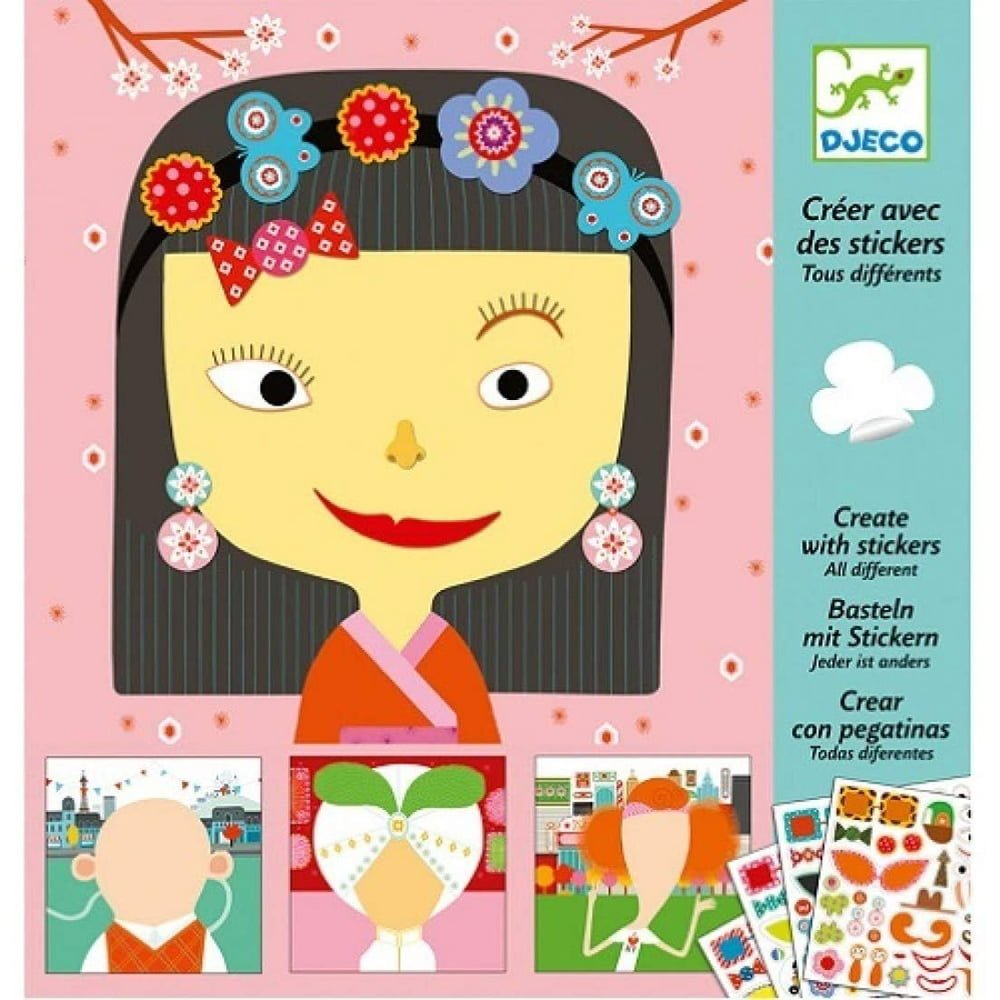 Whirligig Toys - Sticker Faces1
