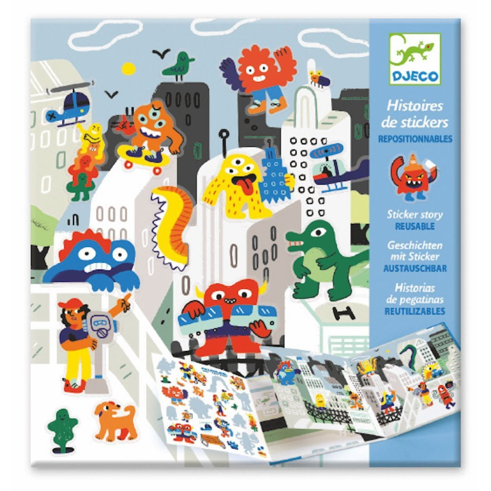Whirligig Toys - Sticker Story Monster Invasion1