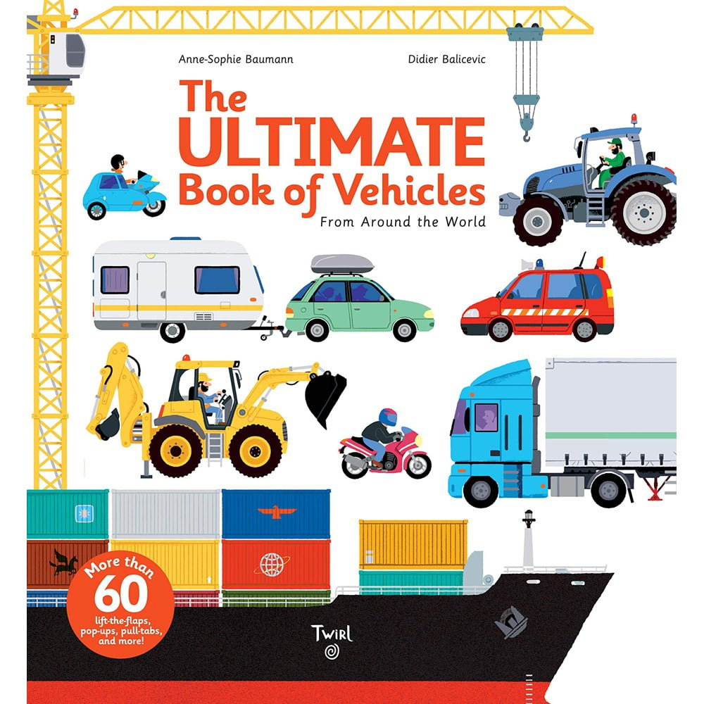 Whirligig Toys - Ultimate Book of Vehicles1