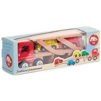 Whirligig Toys - Wooden Car Transporter1