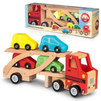 Whirligig Toys - Wooden Car Transporter2