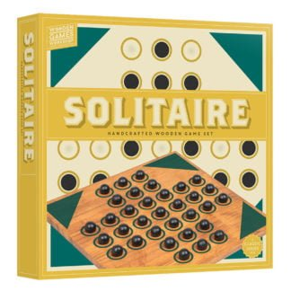 Whirligig Toys - Wooden Solitaire1