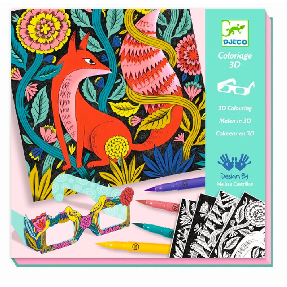 Whirligig Toys - 3D Colouring Forest