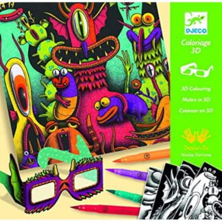 Whirligig Toys - 3D Colouring Freaky1