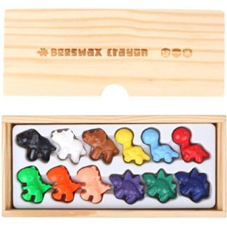 Whirligig Toys - Beeswax Crayon Dinosaurs2