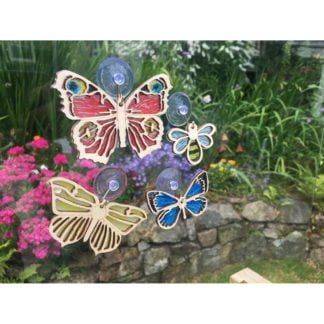 Whirligig Toys - Butterflies And Bees Suncatcher2
