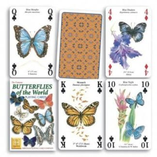 Whirligig Toys - Butterflies Playing Cards2