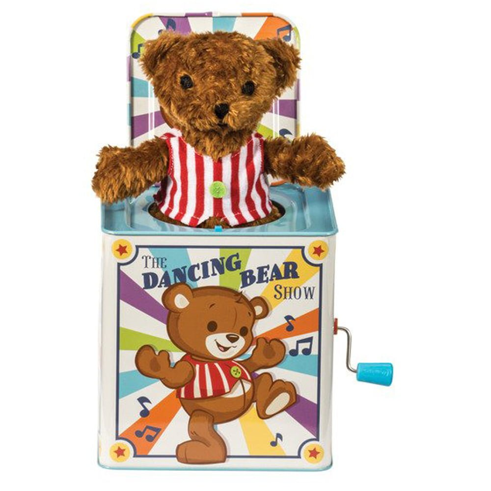 Whirligig Toys - Dancing Bear Jack In The Box1