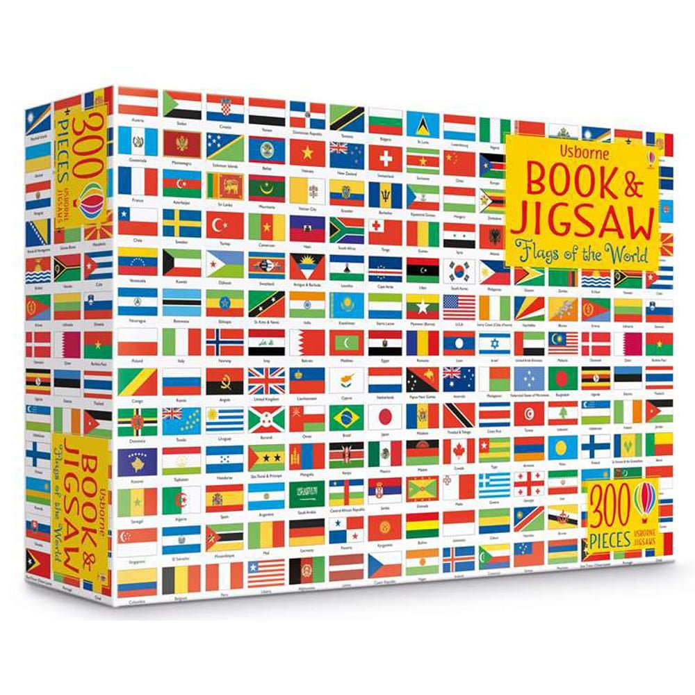 Whirligig Toys - Flags Of The World Jigsaw1