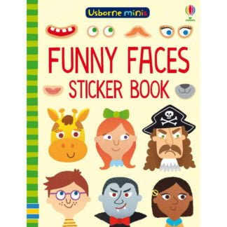 Whirligig Toys - Funny Face Sticker Minibook1