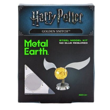 Whirligig Toys - Harry Potter Metal Earth Golden Snitch1