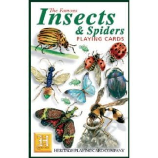 Whirligig Toys - Insects and Spiders Playing Cards1