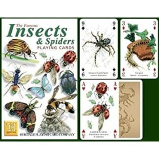 Whirligig Toys - Insects and Spiders Playing Cards2