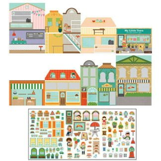 Whirligig Toys - Little Town Stickers2