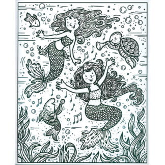 Whirligig Toys - Magic Painting Mermaids2