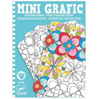 Whirligig Toys - Mini Graphic Flowers1