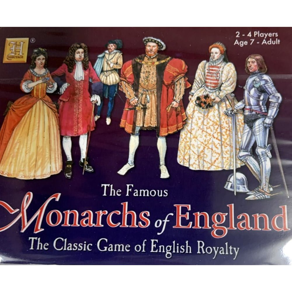 Whirligig Toys - Monarchs Of England Playing Cards2