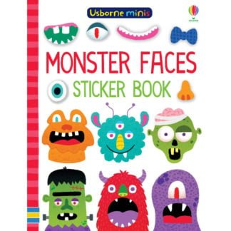 Whirligig Toys - Monster Face Sticker Minibook1