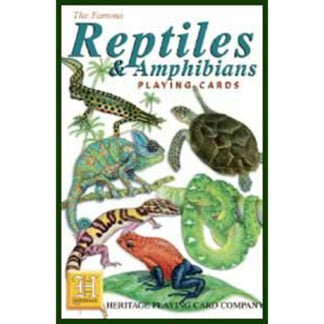 Whirligig Toys - Reptiles Playing Cards1