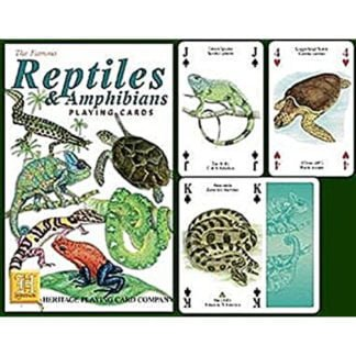 Whirligig Toys - Reptiles Playing Cards2