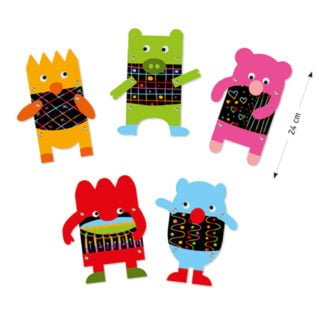 Whirligig Toys - Scratch Art Puppets2