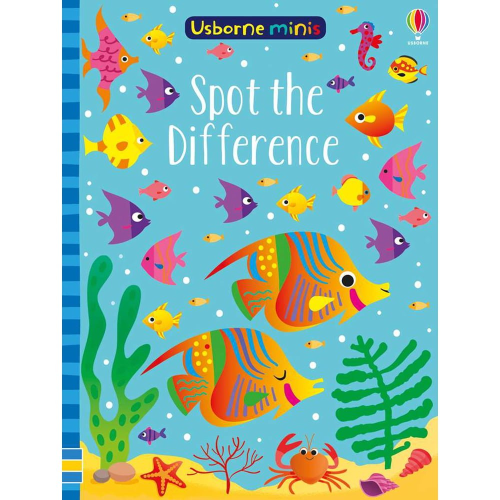 Whirligig Toys - Spot The Difference Minibook1