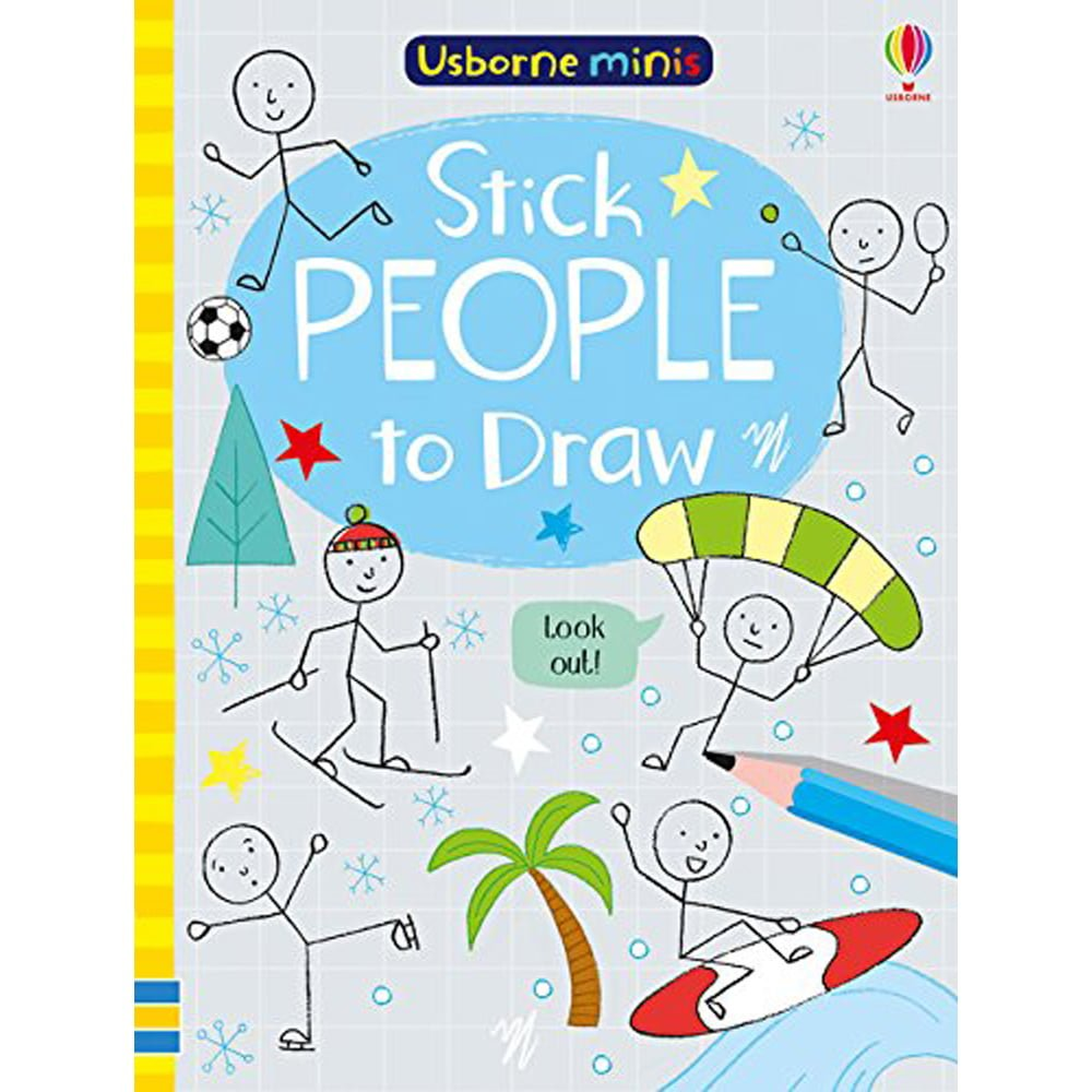 Whirligig Toys - Stick People To Draw Minibook