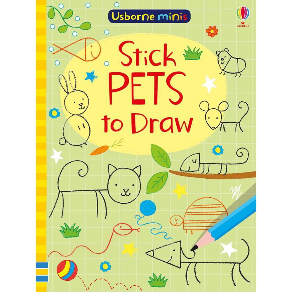 Whirligig Toys - Stick Pets To Draw Minibook1