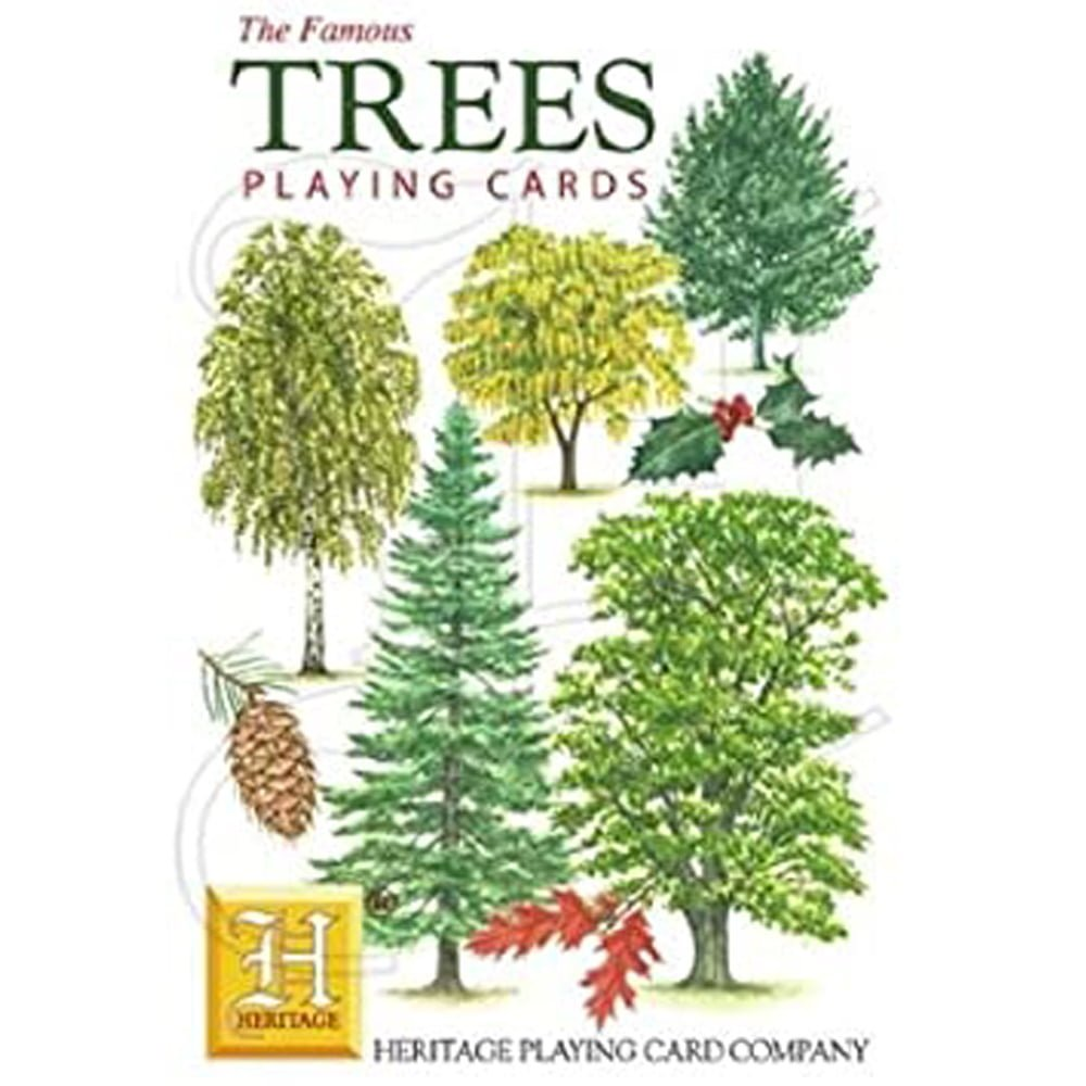 Whirligig Toys - Trees Playing Cards1
