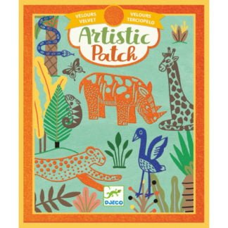 Whirligig Toys - Velvet Art Jungle1