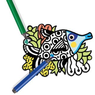 Whirligig Toys - Velvet Colouring Fish2