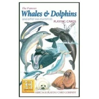 Whirligig Toys - Whales and Dolphin Playing Cards1
