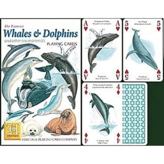 Whirligig Toys - Whales and Dolphin Playing Cards2