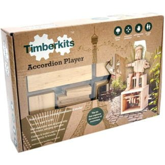 Whirligig Toys - Wooden Accordian Player1