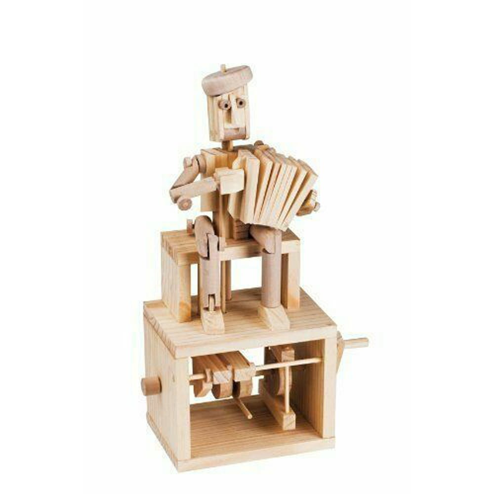 Whirligig Toys - Wooden Accordian Player2