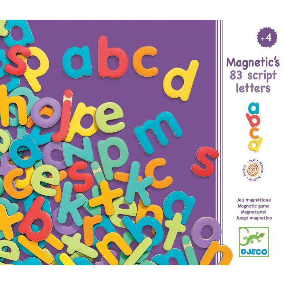 Whirligig Toys - Wooden Magnetic Letters1