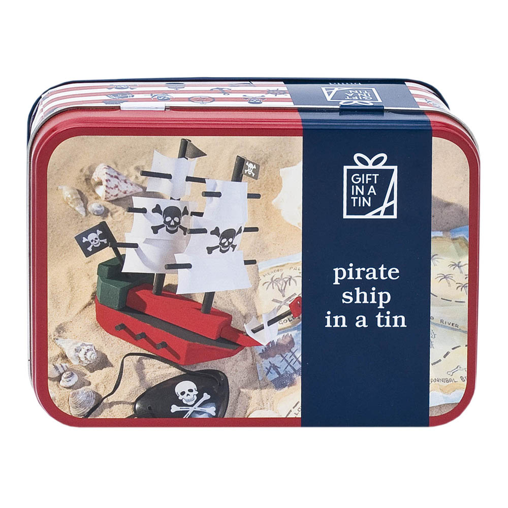 Whirligig Toys - Wooden Pirate Ship1