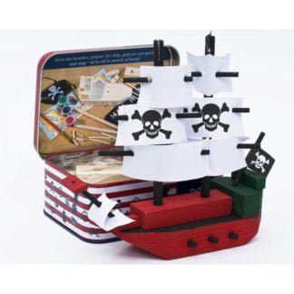 Whirligig Toys - Wooden Pirate Ship2