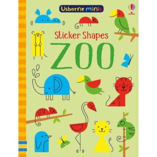 Whirligig Toys - Zoo Stickershapes Minibook1
