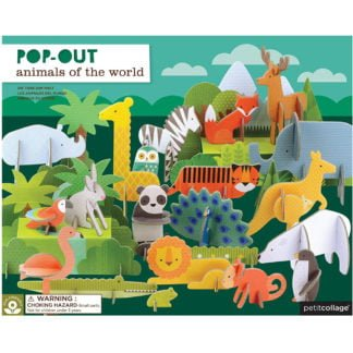 Whirligig Toys - Animals Of The World Pop Out1