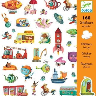 Whirligig Toys - Let's Go Stickers1