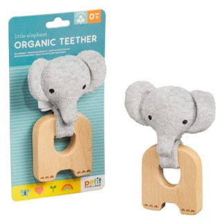 Whirligig Toys - Organic Elephant Teether1