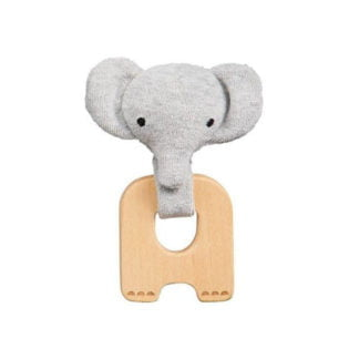 Whirligig Toys - Organic Elephant Teether2
