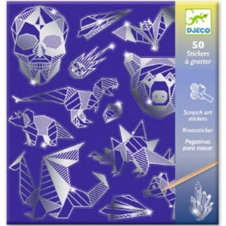 Whirligig Toys - Scratch Art Iron Stickers1