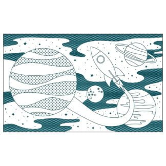 Whirligig Toys - Space Colouring Book2